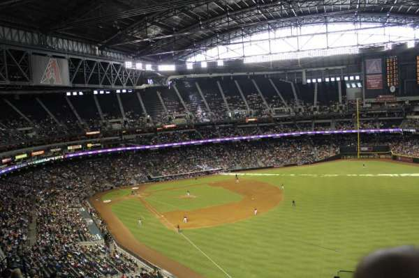 Chase Field, section: 301, row: 13, seat: 2