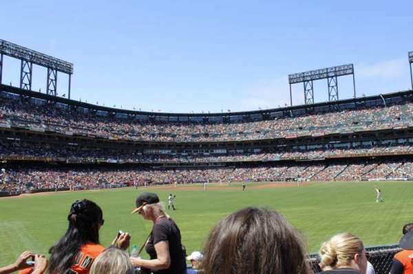 Oracle Park, section: b144, row: 6, seat: 13