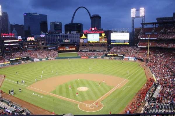 Busch Stadium, section: 351, row: 3, seat: 11