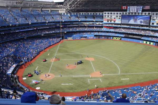 Rogers Centre, section: 520R, row: 14, seat: 10