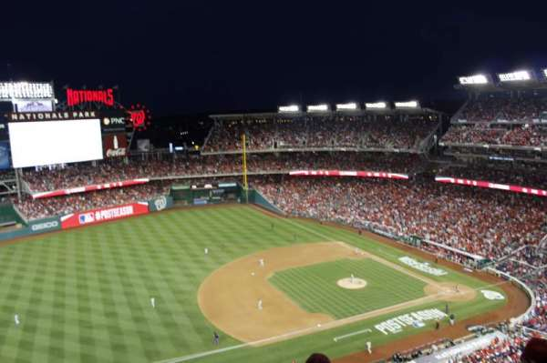 Nationals Park, section: 405, row: e, seat: 6