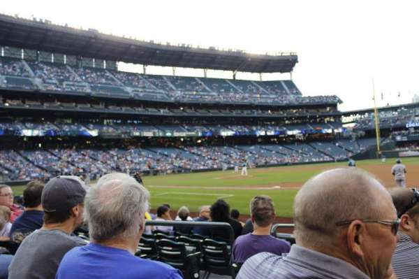 T-Mobile Park, section: 119, row: 7, seat: 4