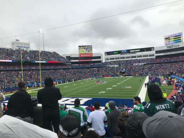 Buffalo Bills Stadium, section: 142, row: 29, seat: 3