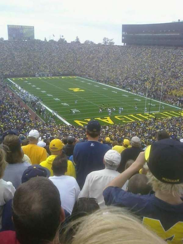 Michigan Stadium, section: 38