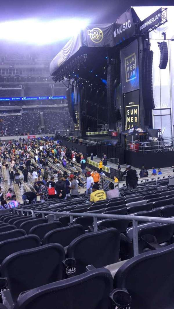 MetLife Stadium, section: 111C, row: 13, seat: 3