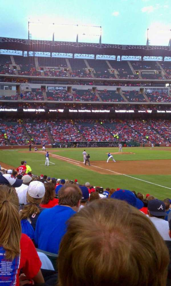 Globe Life Park in Arlington, section: 38, row: 14, seat: 14