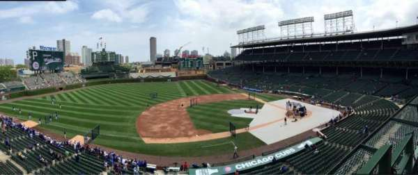 Wrigley Field, section: 309L, row: 1