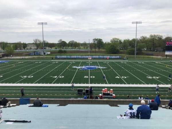 Memorial Stadium (Indiana State), section: F, row: 23, seat: 15