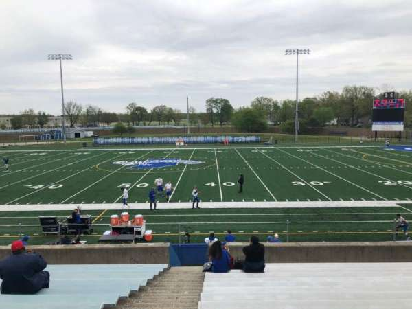 Memorial Stadium (Indiana State), section: D, row: 15, seat: 30