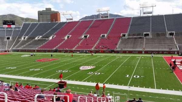 Rice-Eccles Stadium, section: W9, row: 19, seat: 2