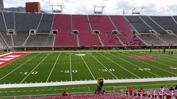 Rice-Eccles Stadium, section: W14, row: 19, seat: 10