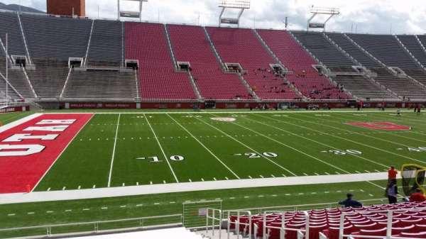 Rice-Eccles Stadium, section: W15, row: 15, seat: 5