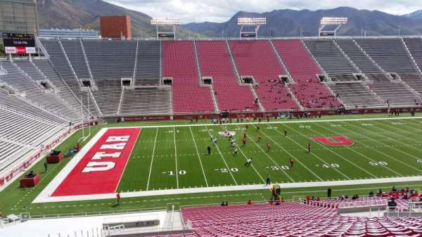 Rice-Eccles Stadium, section: W14, row: 46, seat: 28