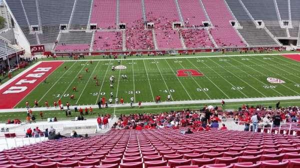 Rice-Eccles Stadium, section: E37, row: 51, seat: 22
