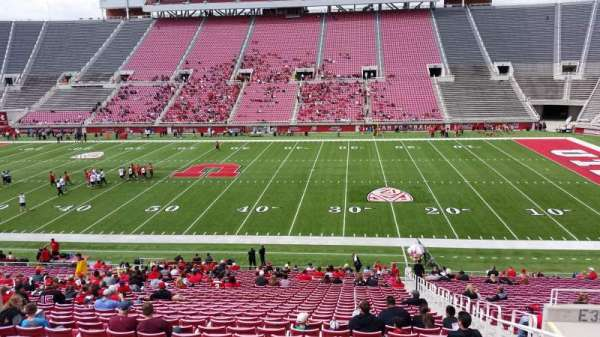 Rice-Eccles Stadium, section: E35, row: 34, seat: 23