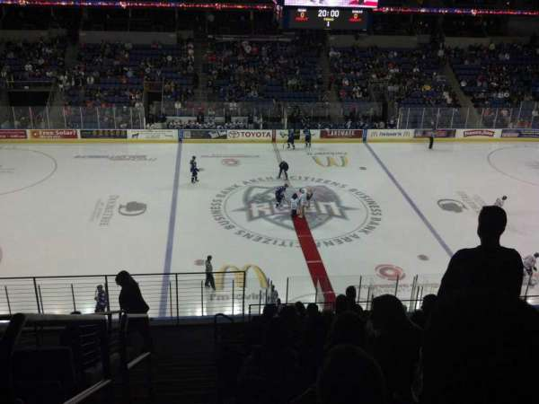Citizens Business Bank Arena, section: 204, row: K, seat: 23