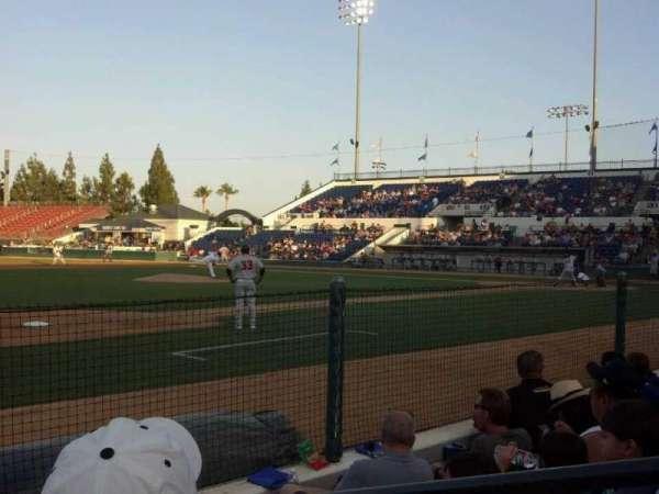 LoanMart Field, section: FB14, row: D, seat: 2