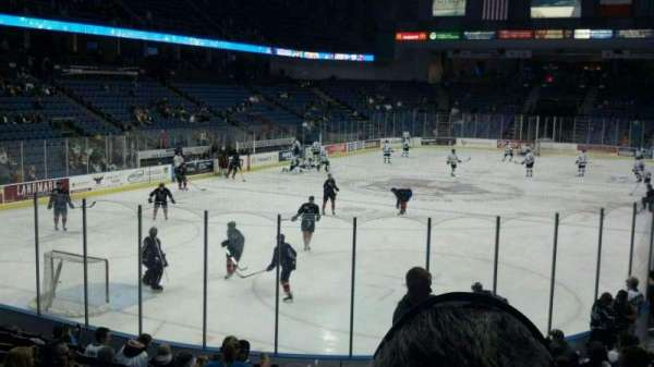 Citizens Business Bank Arena, section: 108, row: M, seat: 27