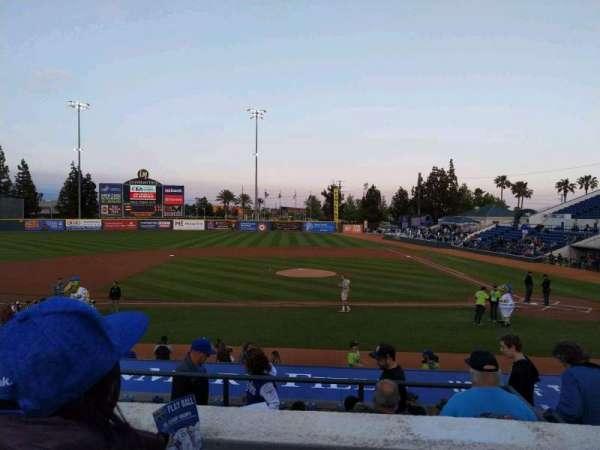 LoanMart Field, section: 8, row: 2, seat: 17