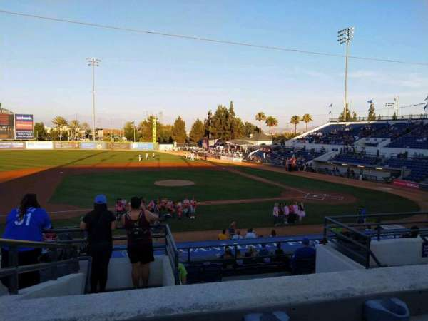 LoanMart Field, section: 10, row: 7, seat: 10