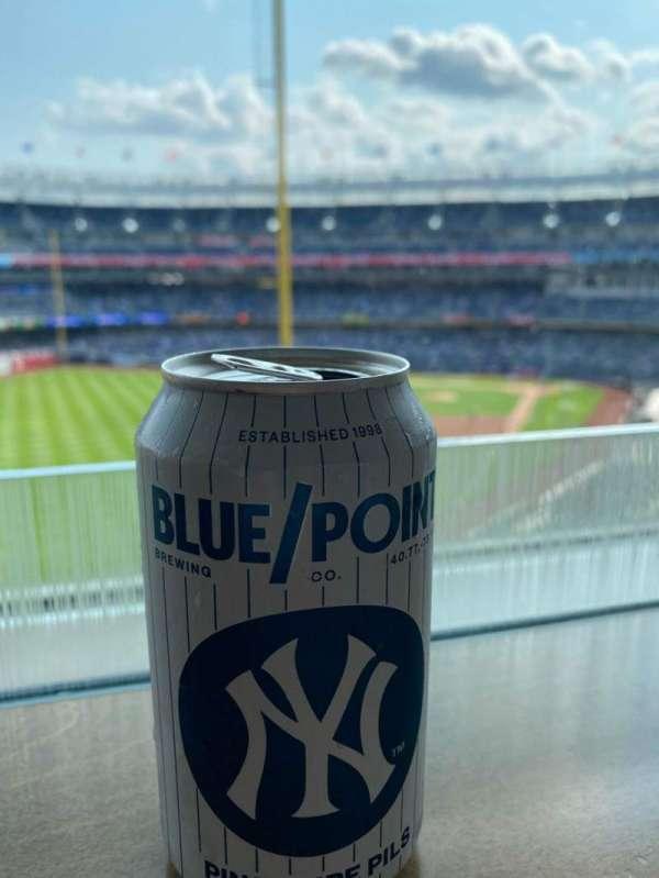 Yankee Stadium, section: 127B, row: 10, seat: 4