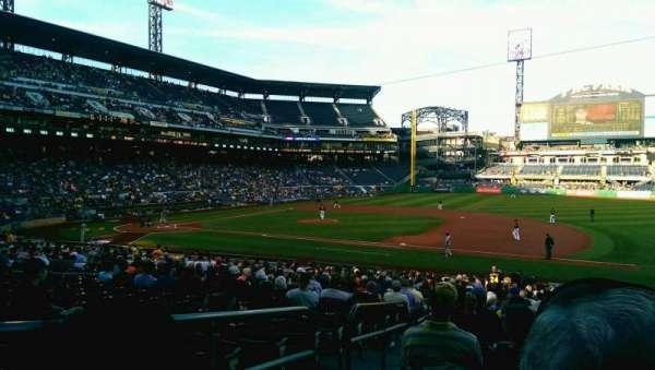 PNC Park, section: 108, row: T, seat: 23
