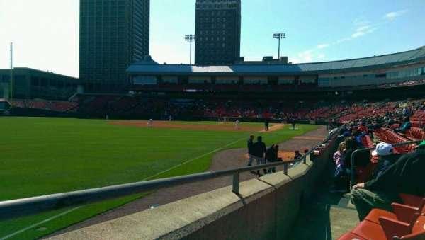 Sahlen Field, section: 123, row: F, seat: 11
