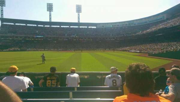 PNC Park, section: 135, row: F, seat: 13