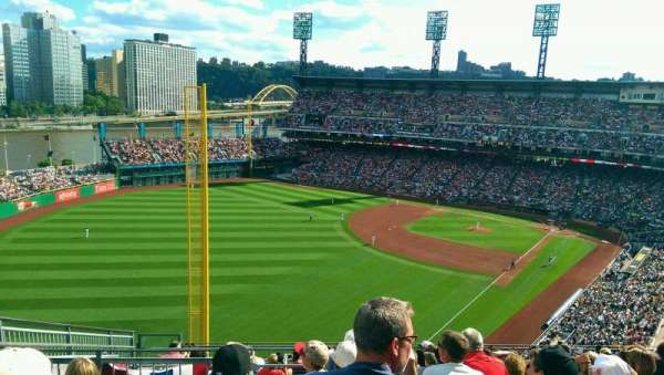 PNC Park, section: 333, row: N, seat: 22