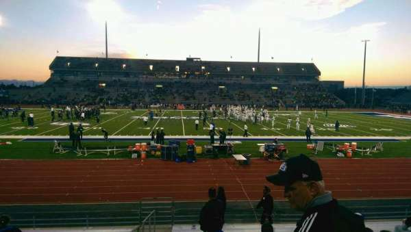 UB Stadium, section: 126, row: P, seat: 24