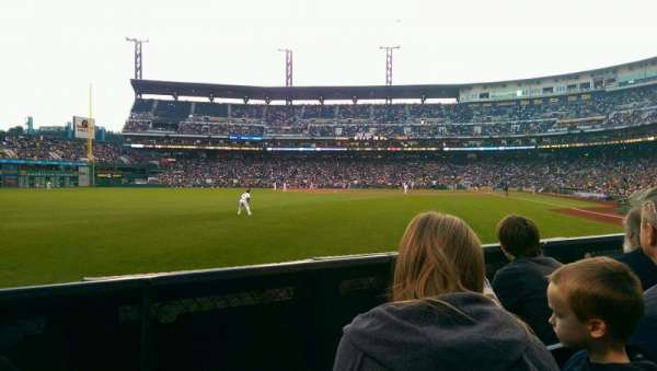 PNC Park, section: 134, row: C, seat: 14