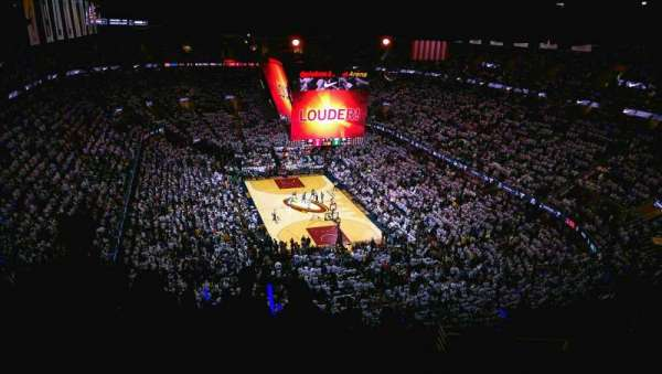 Quicken Loans Arena, section: 232, row: 16, seat: 22