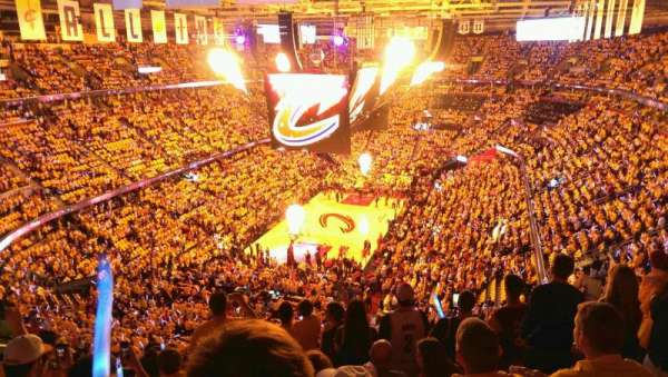 Quicken Loans Arena, section: 219, row: 10, seat: 10