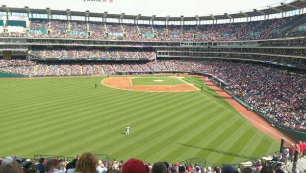 Progressive Field, section: 181, row: Y, seat: 13