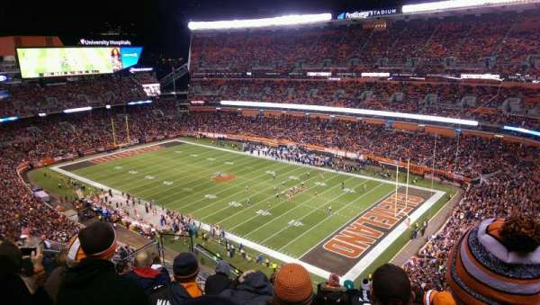 FirstEnergy Stadium, section: 540, row: 15, seat: 11