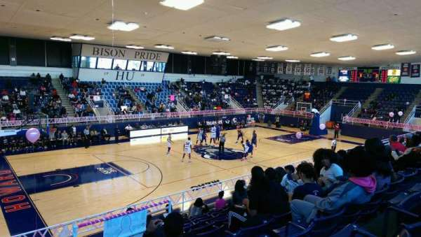 Burr Gymnasium, section: 3, row: 10, seat: 1