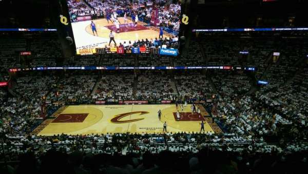 Quicken Loans Arena, section: Suite 235, row: 2, seat: 3