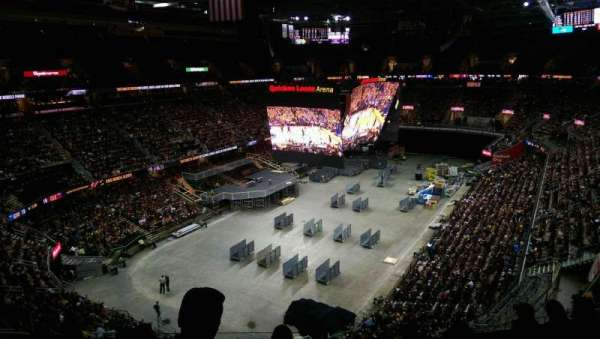 Quicken Loans Arena, section: 203, row: 6, seat: 2