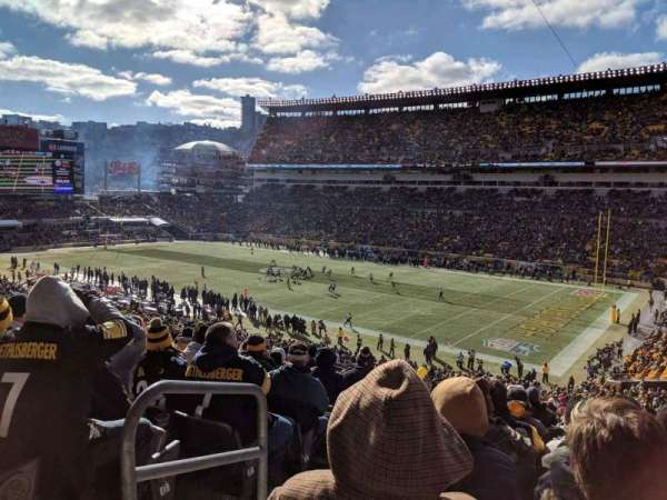 Heinz Field, section: 216, row: K, seat: 18
