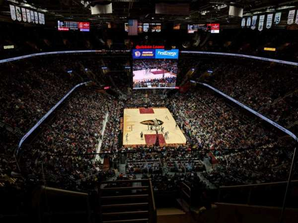 Quicken Loans Arena, section: 216, row: 10, seat: 17