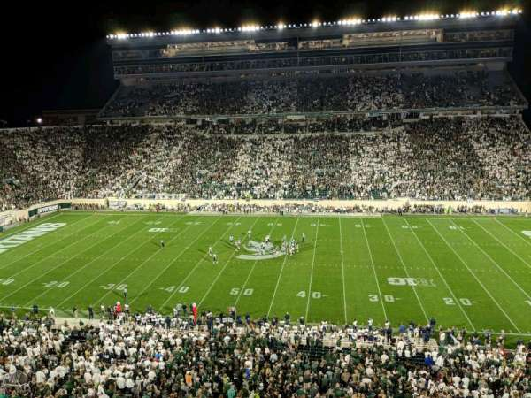 Spartan Stadium, section: 108, row: 2, seat: 12
