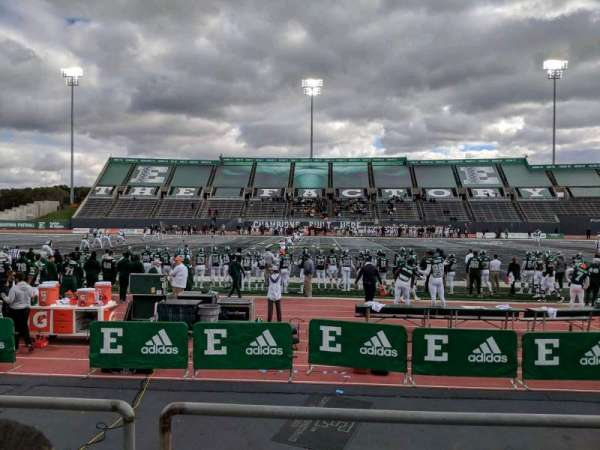 Rynearson Stadium, section: 105, row: B, seat: 1