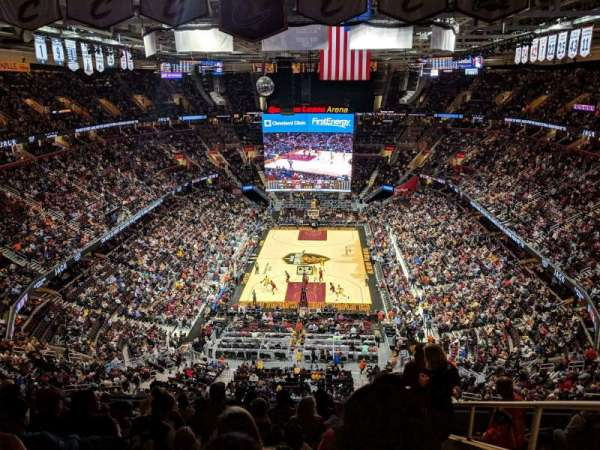 Quicken Loans Arena, section: 200, row: 11, seat: 16