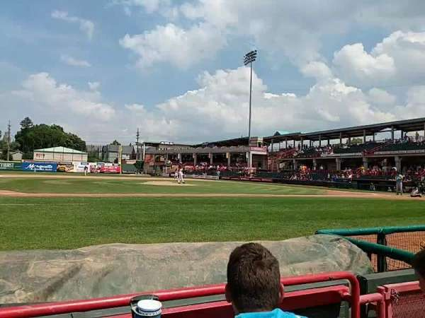 UPMC Park, section: 113, row: B, seat: 4