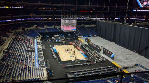 Lucas Oil Stadium, section: 518, row: 1, seat: 17