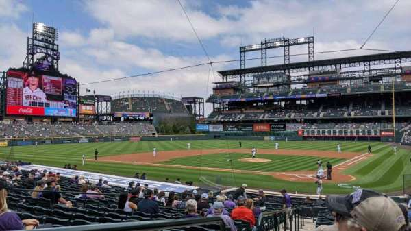 Coors Field, section: 133, row: 24, seat: 10