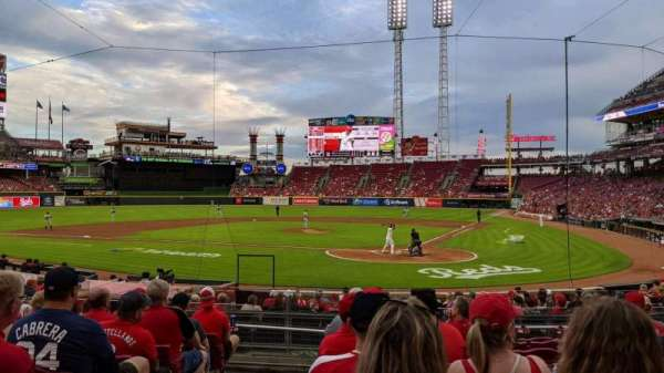 Great American Ball Park, section: 121, row: U, seat: 13