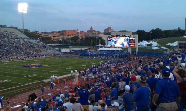 David Booth Kansas Memorial Stadium, section: 10, row: 27, seat: 10