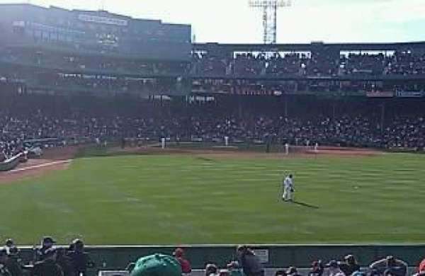 Fenway Park, section: Bleacher 43, row: 19