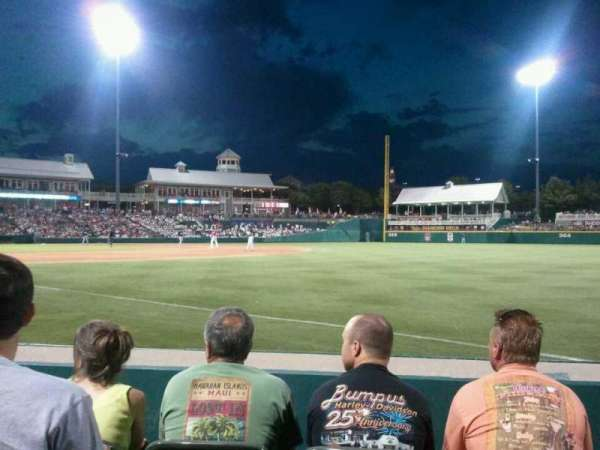 Dr Pepper Ballpark, section: 124, row: 4, seat: 3